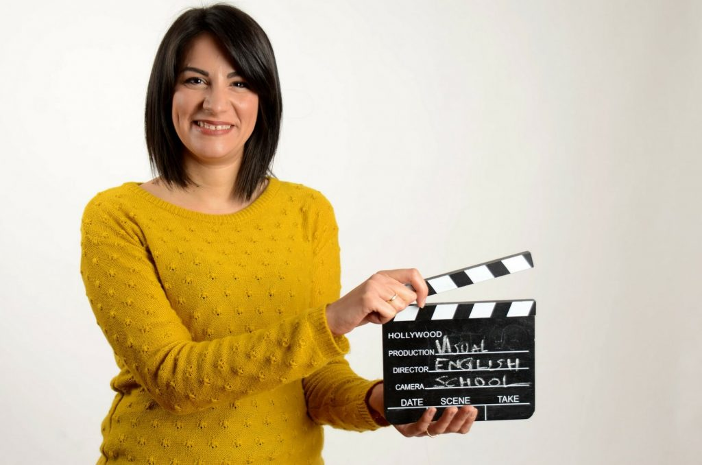My name is Alexandra I offer one-to-one lessons. Learn English with films.