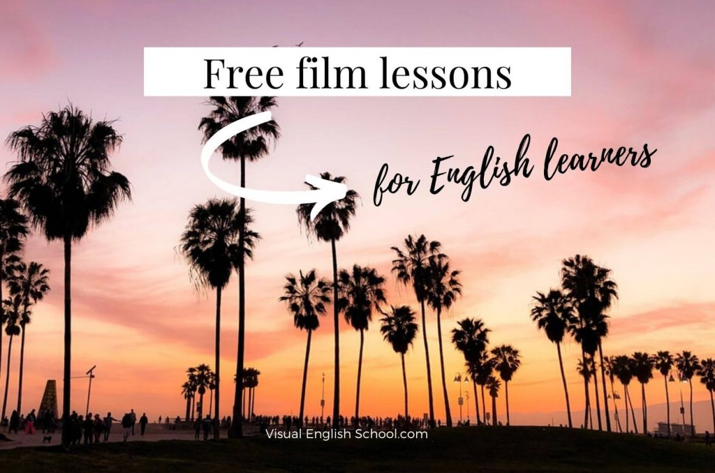 If you sign up you can get free film lessons and learn English through cinema.