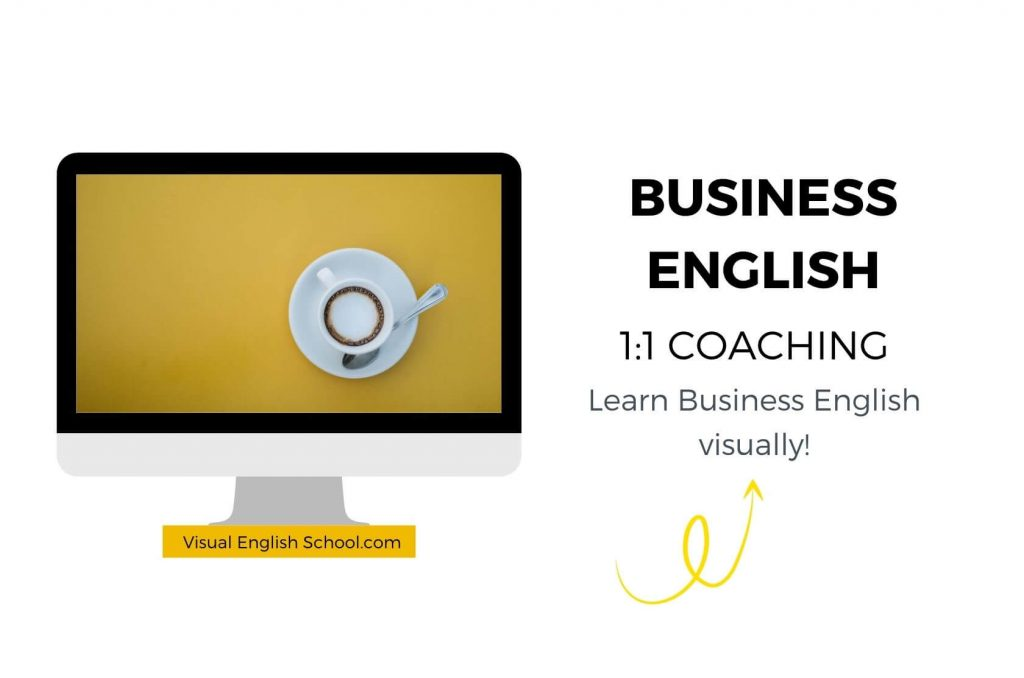 Here you can sign up for 1:1 business English coaching programs.