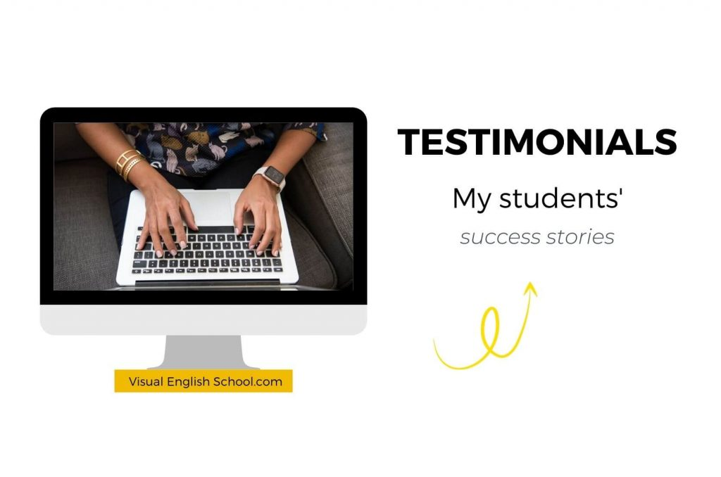 Here you can read my students' testimonials.